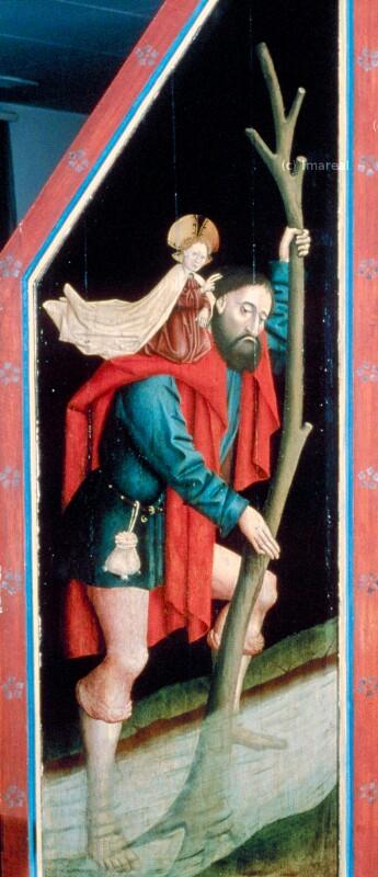 Hl. Christophorus von Meister von Liefering