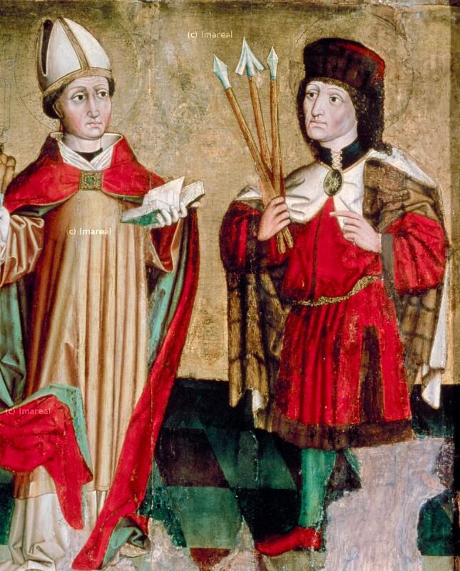 Hl. Erasmus von Meister von Mauterndorf-Umkreis