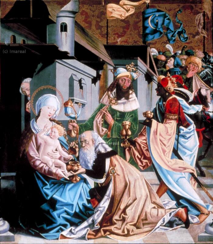 Anbetung der Könige von Meister von Mariapfarr
