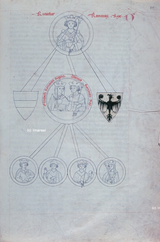 Stammbaum der Habsburger