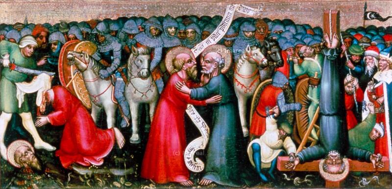 Abschied der Hll. Petrus und Paulus von