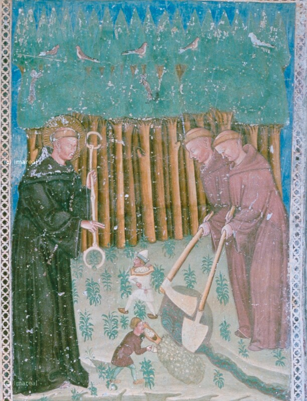 Klostergründung durch den Hl. Leonhard
