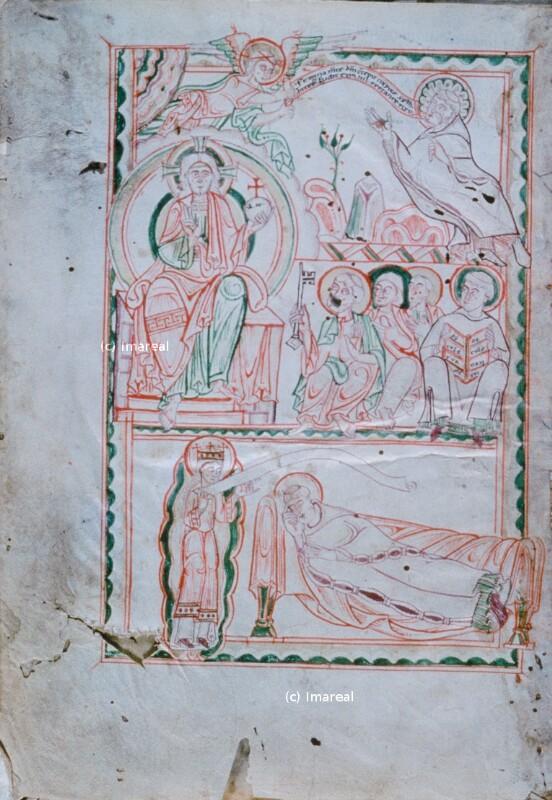 Inspiration des Hl. Rupert von Deutz durch die Ecclesia