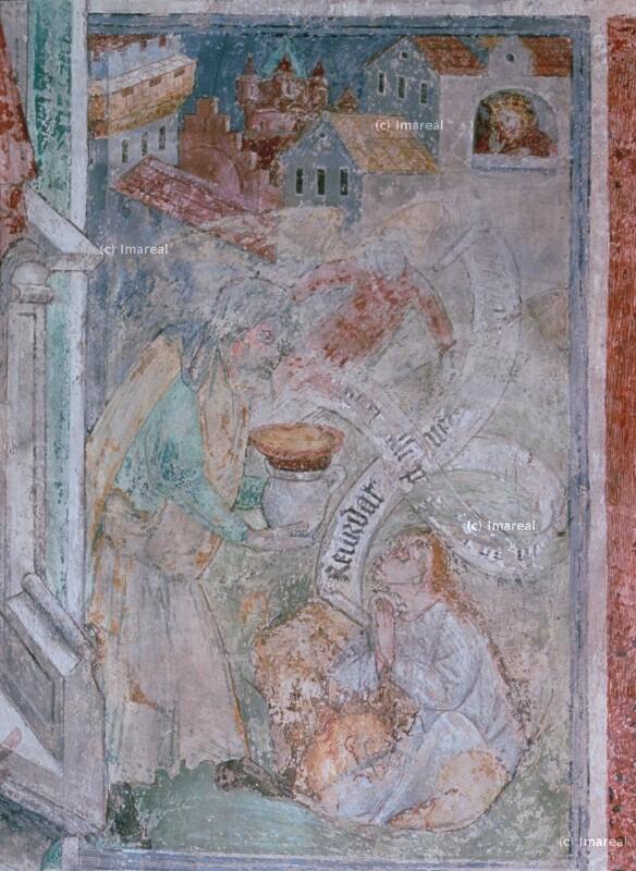 Daniel wird von Habakuk gespeist von Thomas von Villach