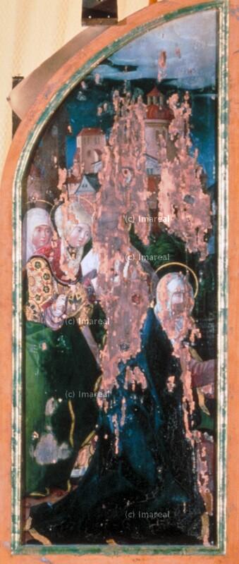 Abschied Christi von Maria von Meister der Pierermadonna