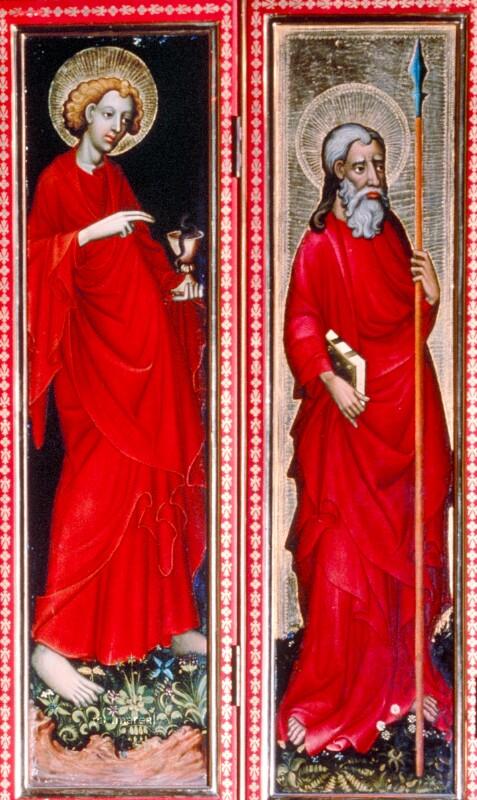 Hl. Thomas von Meister der St. Lambrechter Kreuzigungen