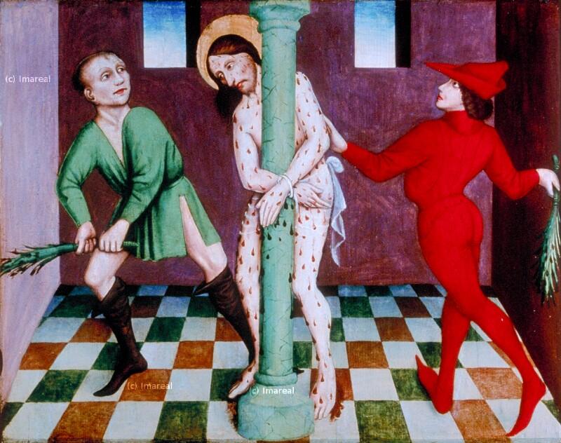 Geißelung Christi von Meister des Fastentuchs