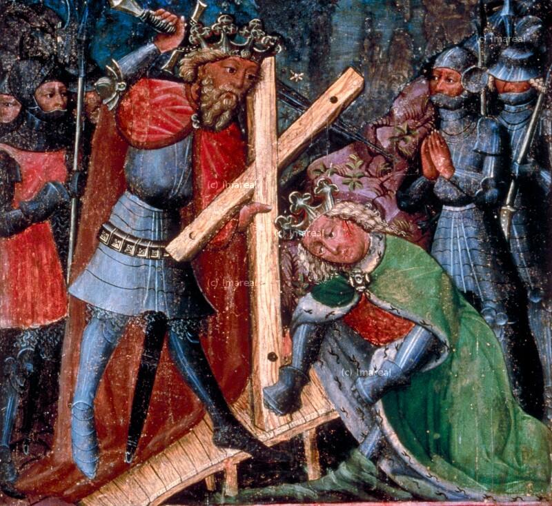 Zweikampf zwischen Heraklius und dem Sohn des Chosroes von Konrad von Friesach