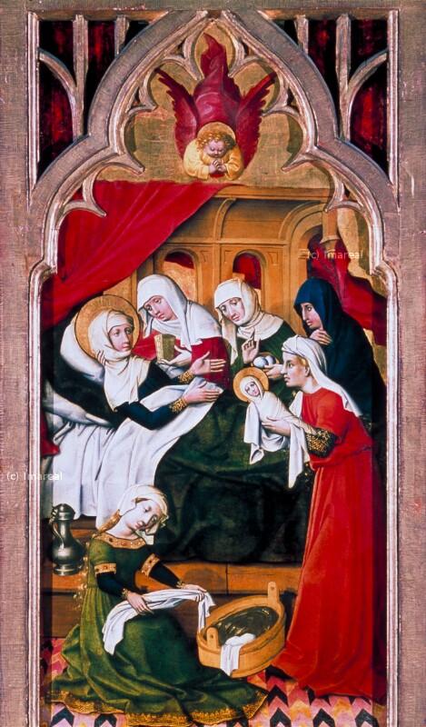 Geburt Mariens von Meister von Schloss Lichtenstein