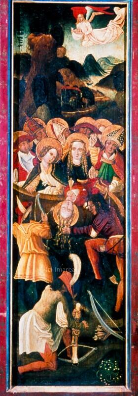 Martyrium der Hl. Ursula und der elftausend Jungfrauen