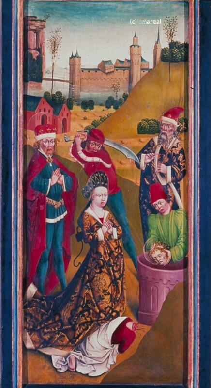 Martyrium des Hl. Sigismund und seiner Familie