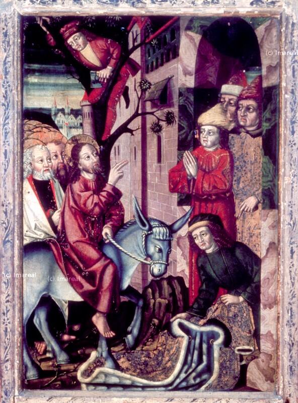 Einzug Christi in Jerusalem von Simon von Taisten