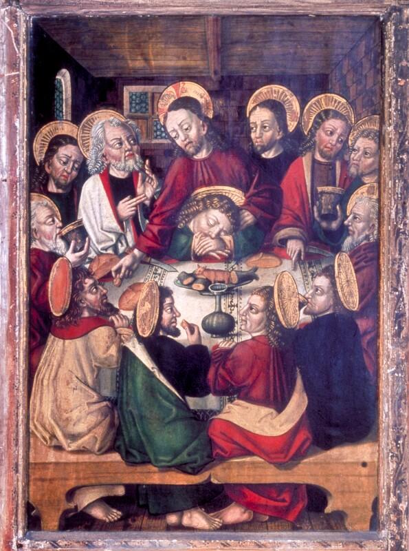 Letztes Abendmahl von Simon von Taisten
