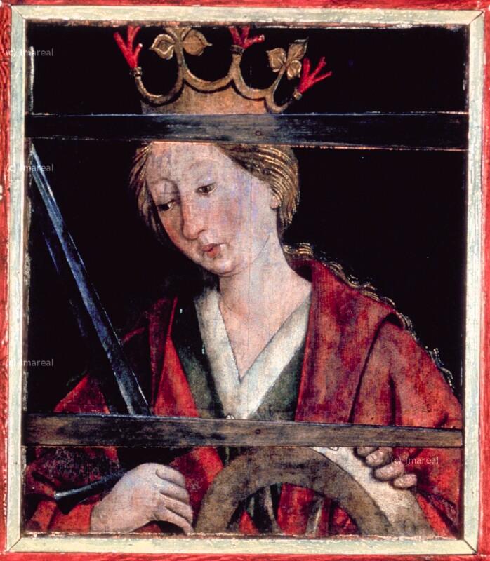 Hl. Katharina von Pacher Friedrich