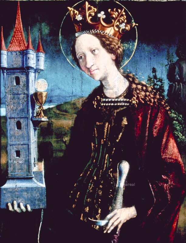 Hl. Barbara von Pacher-Umkreis
