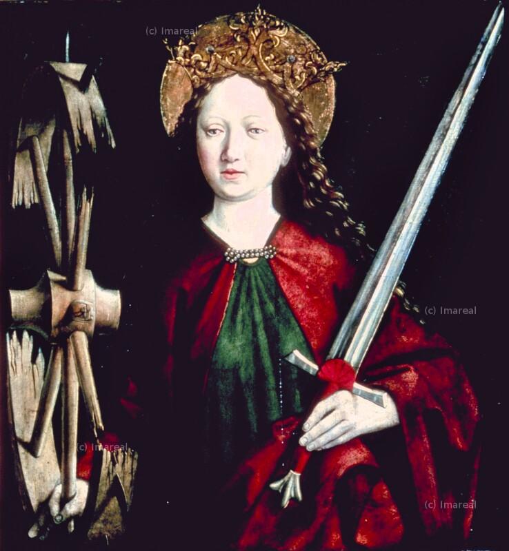 Hl. Katharina von Pacher-Umkreis