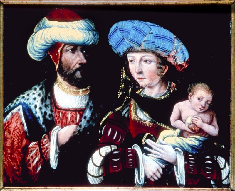 Porträt von Meister der Habsburger