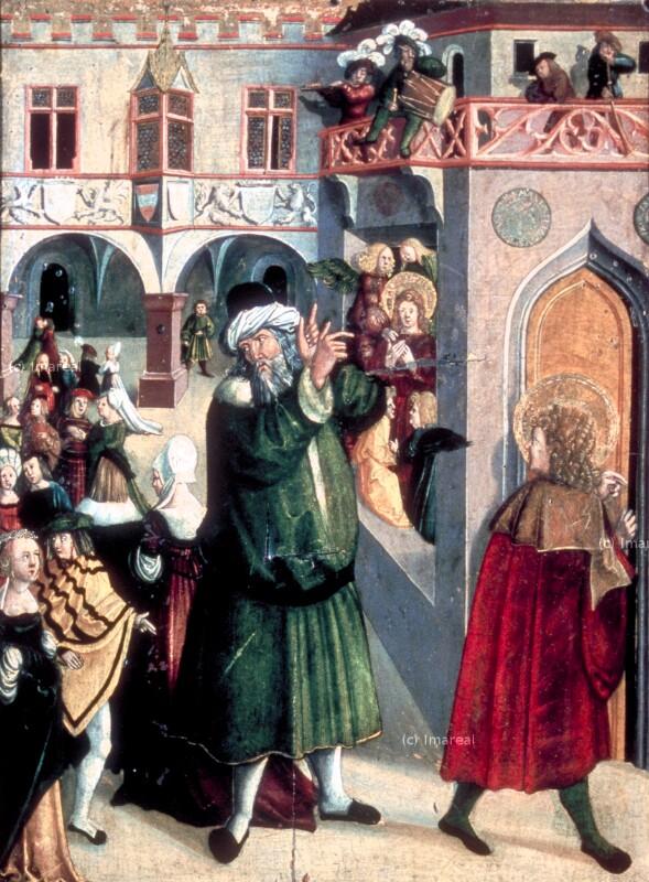 Engel besuchen den Hl. Vitus von Kölderer-Umkreis