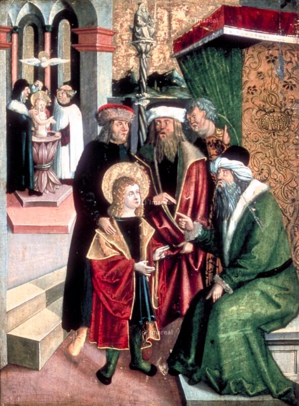 Taufe des Hl. Vitus von Kölderer-Umkreis