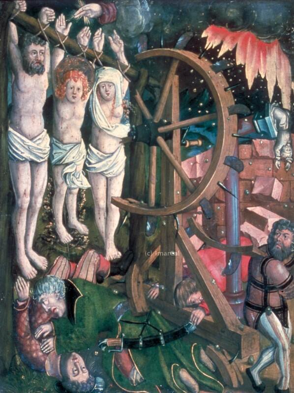 Radmartyrium des Hl. Vitus,des Hl. Modestus und der Hl. Krescentia von Kölderer-Umkreis