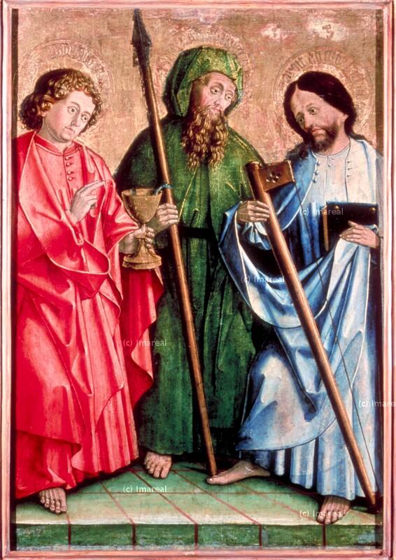 Hl. Johannes Evangelist von Meister von Uttenheim