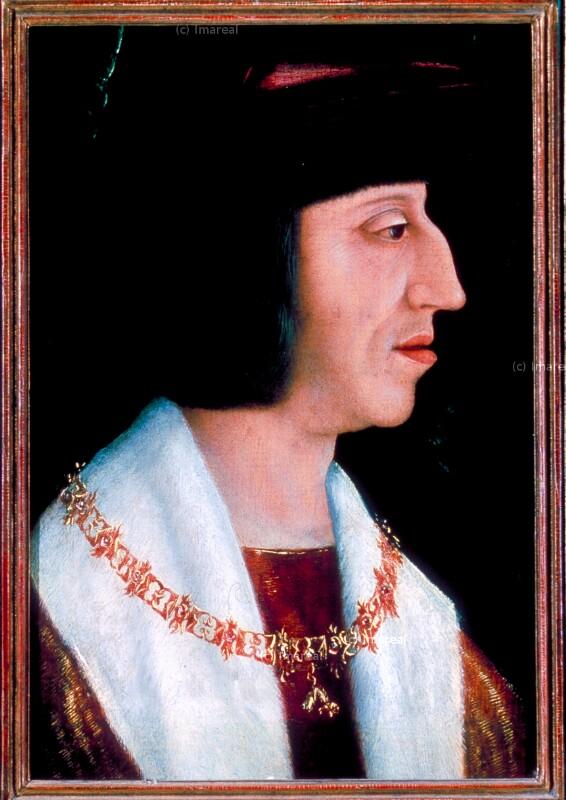 Porträt von Strigel Bernhard