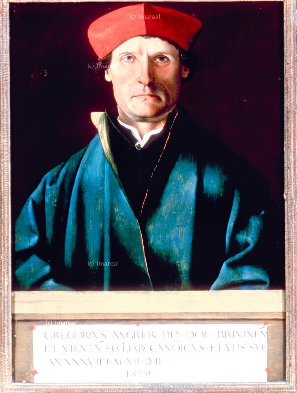 Porträt von Reichlich Marx