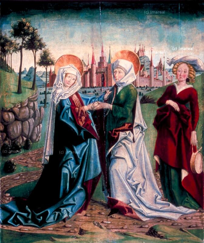 Heimsuchung Mariens von Pacher Friedrich