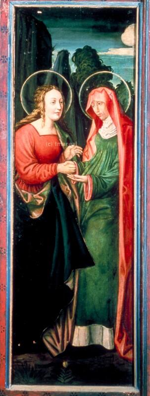 Heimsuchung Mariens von Haller Andre