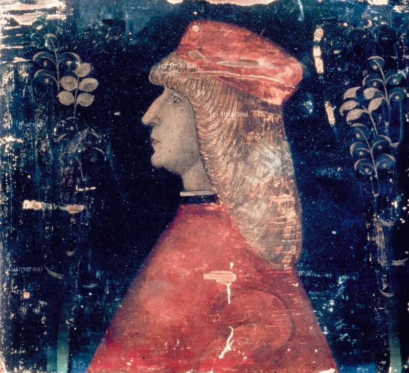 Porträt von Pisanello-Werkstatt