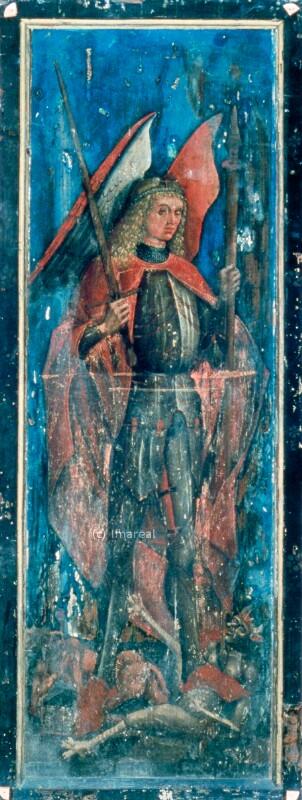 Hl. Michael von Pacher-Umkreis