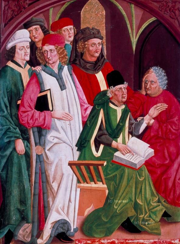 Disputation der Hl. Katharina mit den Philosophen von Konraiter Ludwig