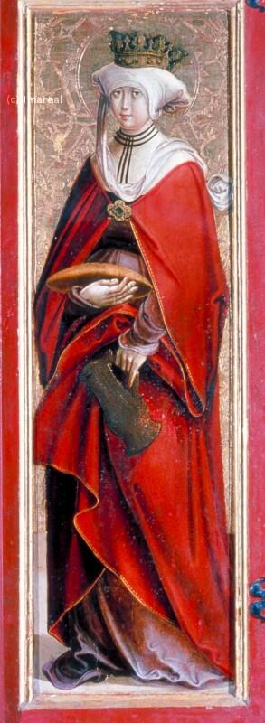 Hl. Elisabeth von Thüringen von Pacher-Umkreis
