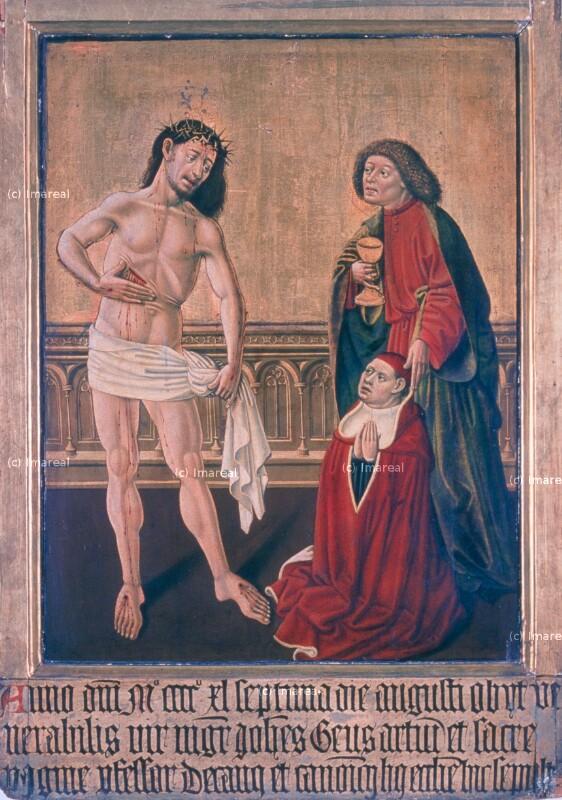 Schmerzensmann von Meister des Albrechtsaltars