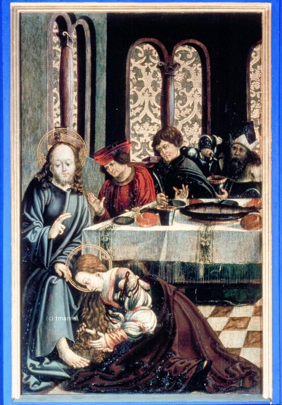 Gastmahl in Bethanien von Stöberl Matthias