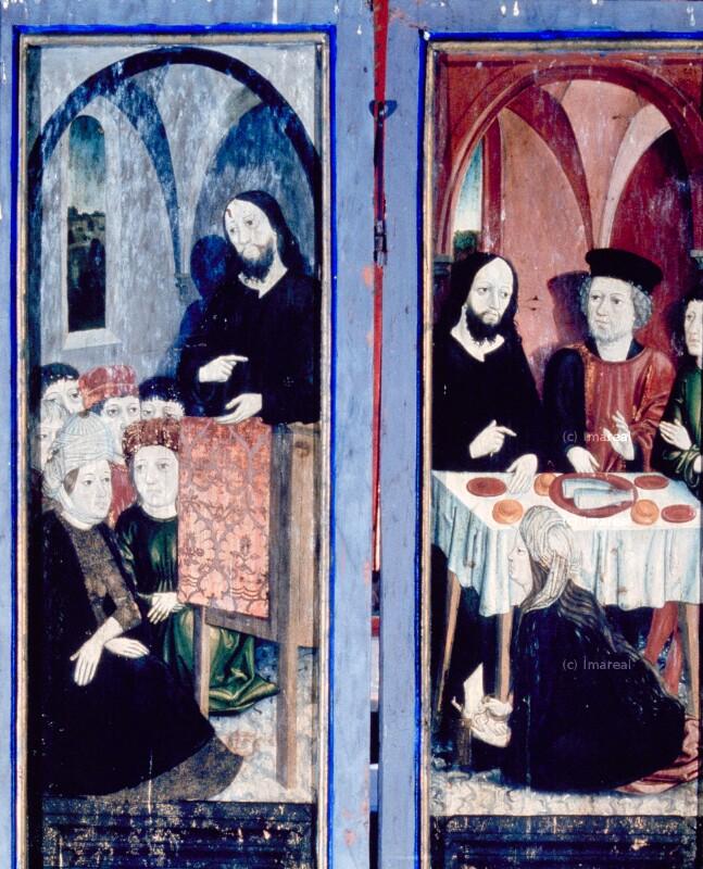 Bekehrung der Hl. Maria Magdalena durch die Predigt Christi von Harder Hans