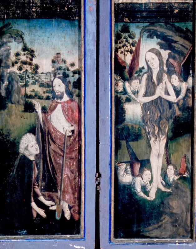 Verzückung der Hl. Maria Magdalena von Harder Hans
