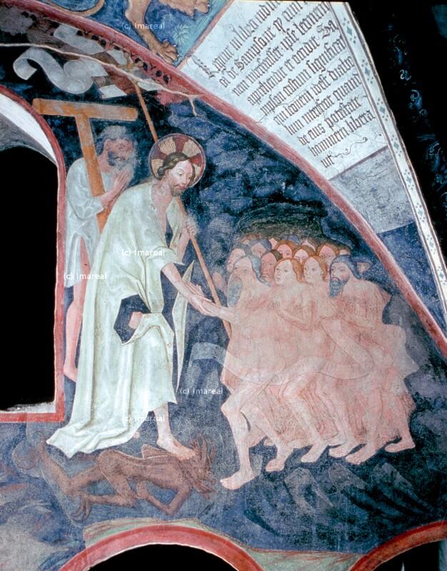 Christus in der Vorhölle von Leonhard von Brixen