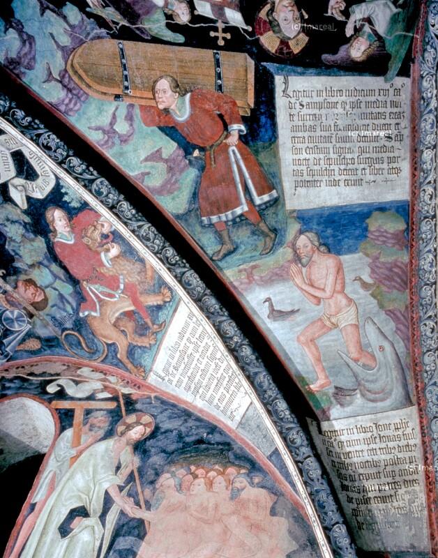 Jona wird vom Walfisch ausgespien von Leonhard von Brixen