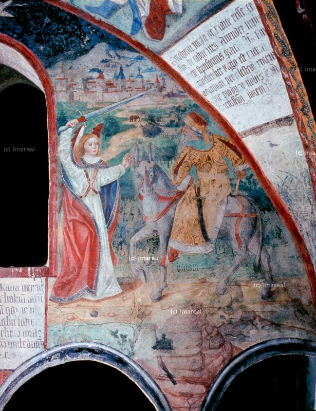 Bileam wird von einem Engel aufgehalten von Potsch Ruprecht