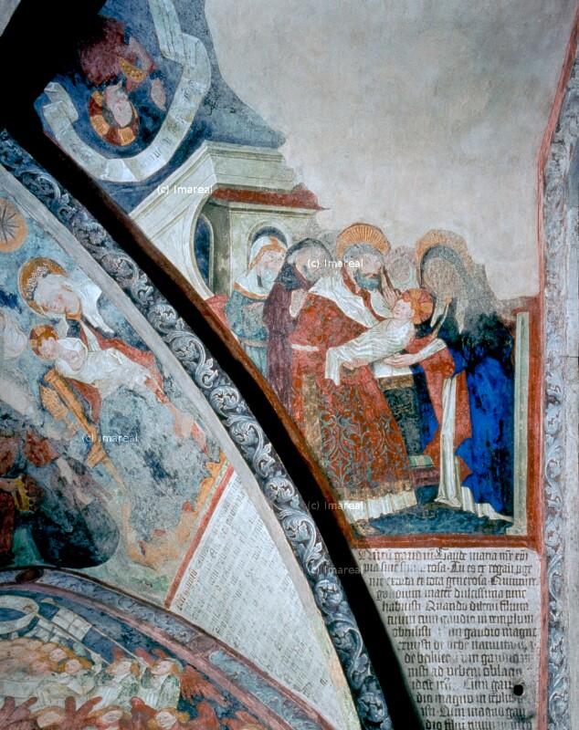 Darbringung Jesu im Tempel von Leonhard von Brixen-Umkreis