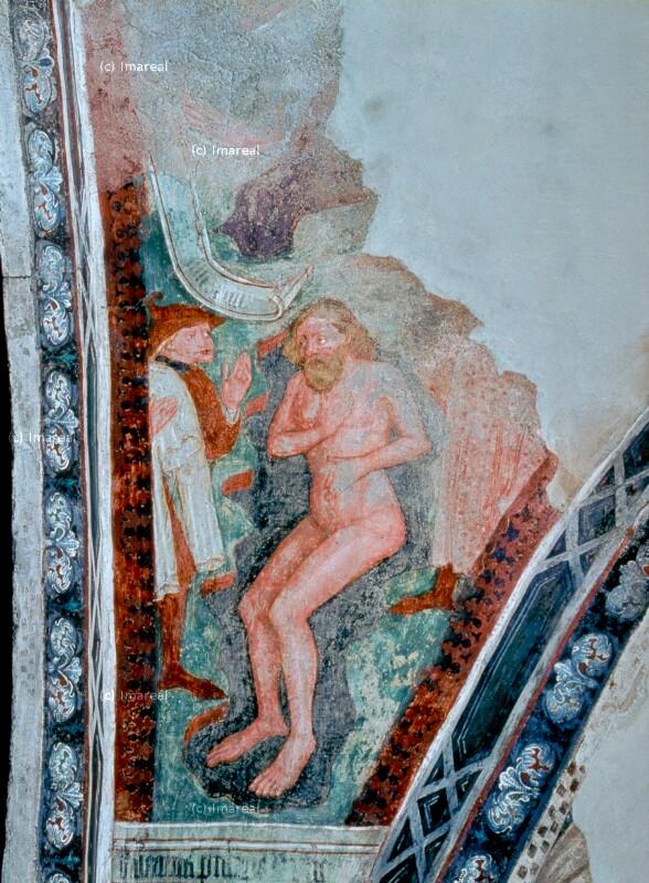 Reinigung Naamans im Jordan von Leonhard von Brixen-Umkreis
