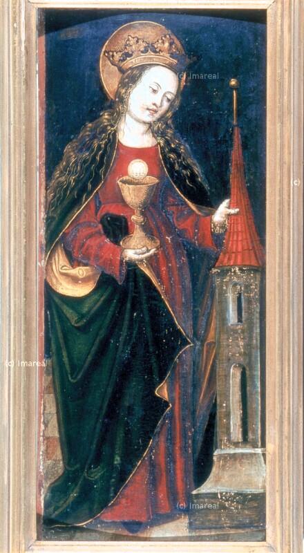 Hl. Barbara von Haller Andre