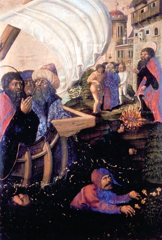 Errettung vor Schiffbruch durch den Hl. Paulus