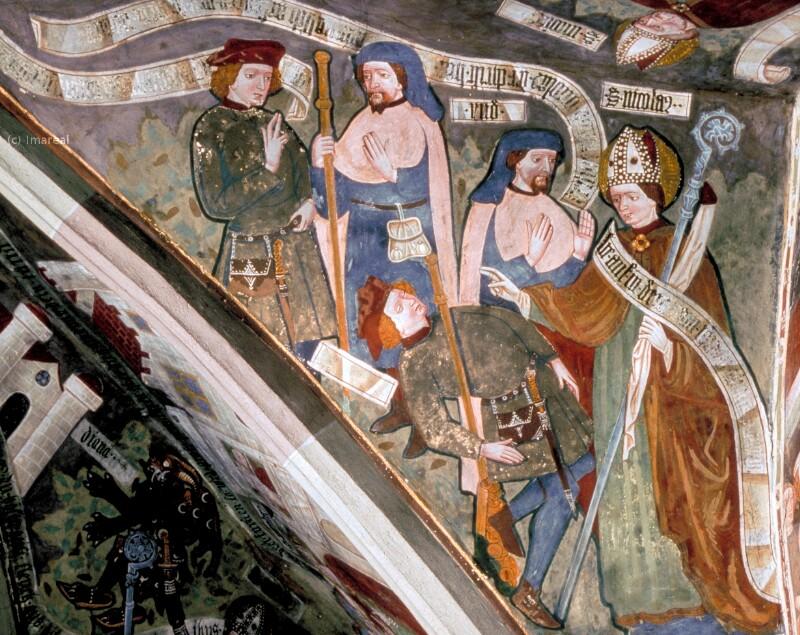 Erweckung eines Meineidigen durch den Hl. Nikolaus von Leonhard von Brixen-Umkreis