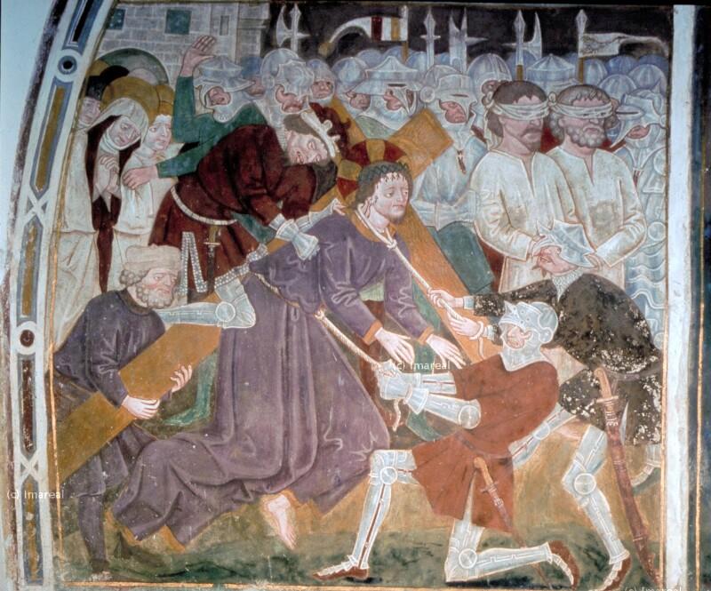 Kreuztragung Christi von Leonhard von Brixen-Umkreis