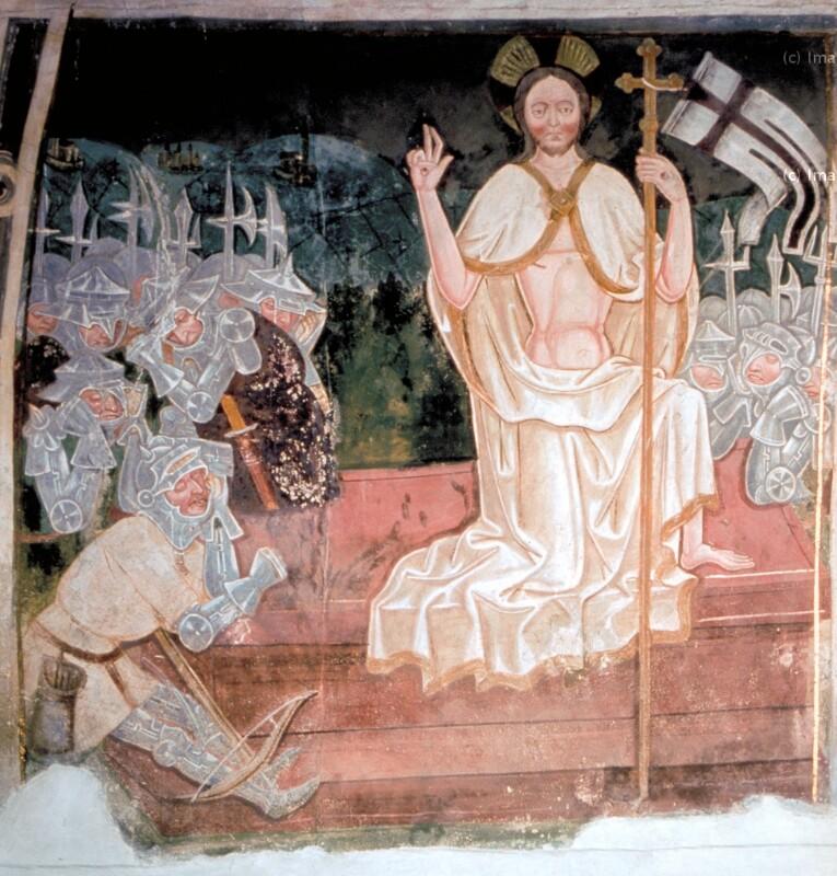 Auferstehung Christi von Leonhard von Brixen-Umkreis