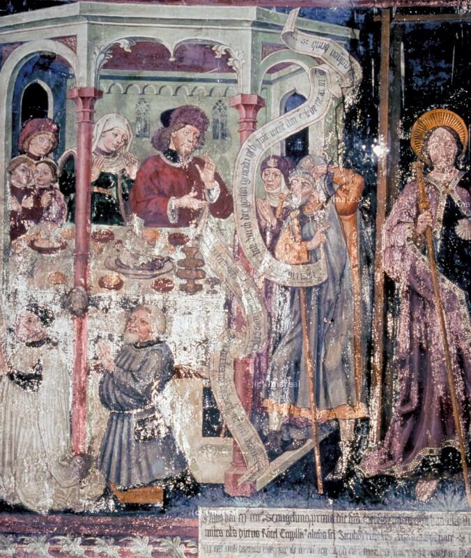Stifter von Leonhard von Brixen
