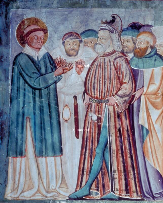 Disputation des Hl. Stephan mit den Juden