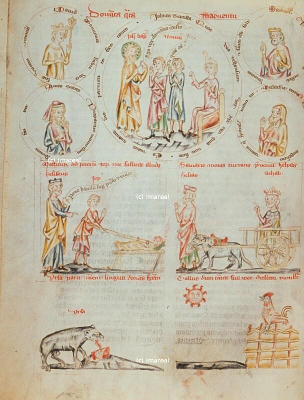 Hl. Johannes der Täufer als Stimme in der Wüste